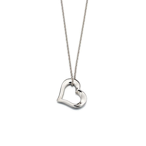 India-Adult Open Heart Pendant & Chain