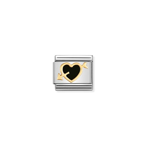 Nomination Enamel Heart Charm