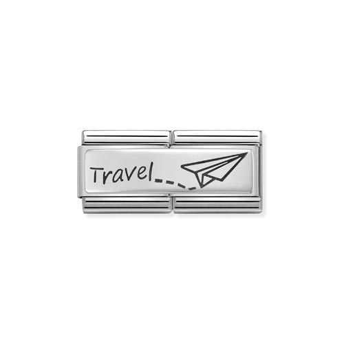 Double Link travel Charm