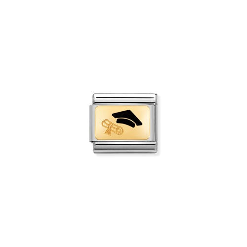Nomination Enamel Graduation & Diploma Charm