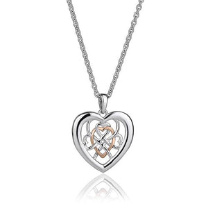 Silver & 9ct Gold Welsh Royalty Pendant