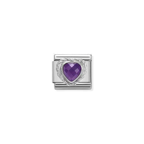 Nomination Stone Set Faceted Charm