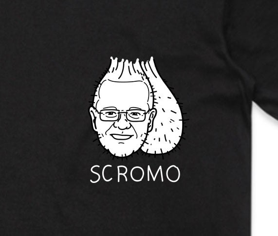 Scromo Black T Shirt