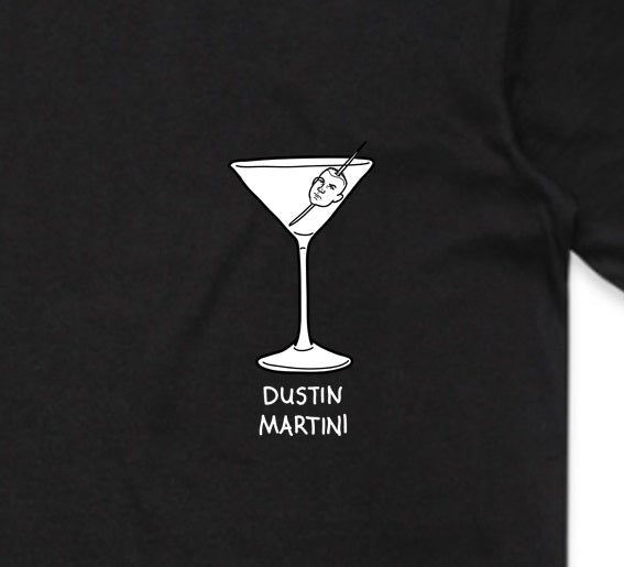 Dustin Martini Black T Shirt