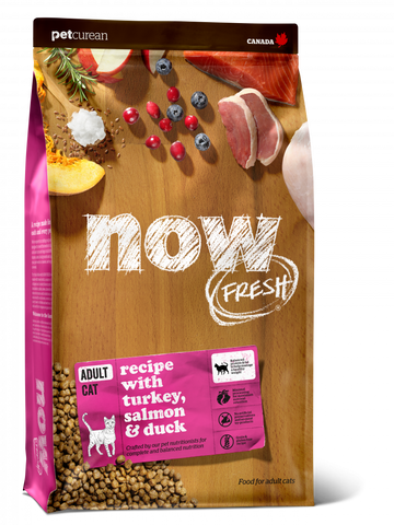 Petcurean Now! Fresh Grain Free Adult Recipe Dry Cat Food