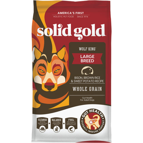 Solid Gold Wolf King with Bison Dry Dog Food