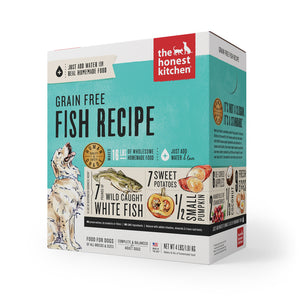The Honest Kitchen Grain Free Fish Recipe Dehydrated Dog Food