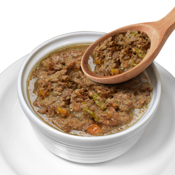 Lotus Wholesome Grain Free Beef and Asparagus Stew Canned Dog Food
