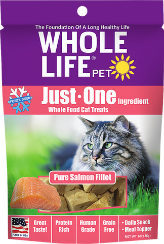 Whole Life Just One Grain Free Salmon Cat Treats