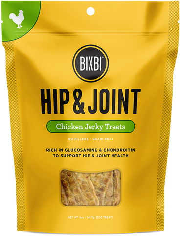 Bixbi Hip & Joint Chicken Breast Jerky Dog Treats