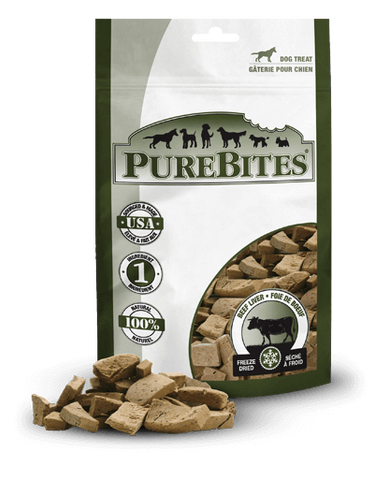 PureBites Freeze Dried Beef Liver Dog Treats