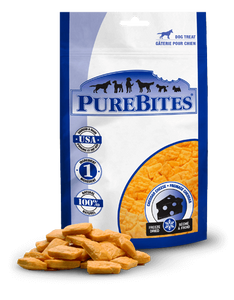 PureBites Freeze Dried Cheddar Cheese Dog Treats