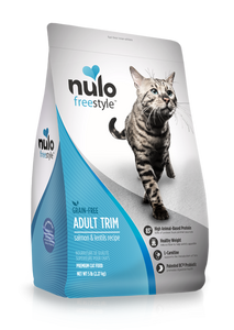 Nulo FreeStyle Adult Trim Grain Free Salmon and Lentils Dry Cat Food
