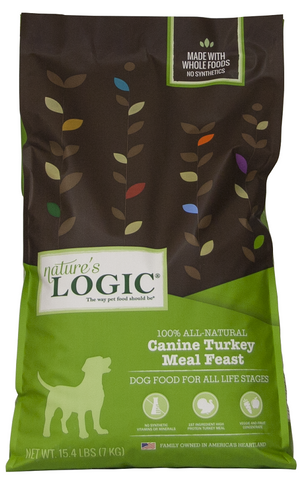 Nature's Logic Canine Turkey Meal Feast Dry Dog Food