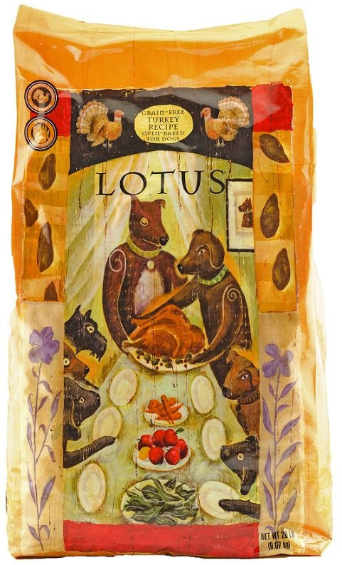 Lotus Oven Baked Grain Free Turkey Recipe Dry Dog Food