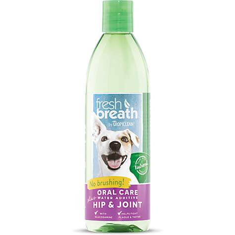 Tropiclean Fresh Breath Water Additive Plus Hip & Joint  for Dogs and Cats