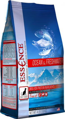 Essence Grain Free Ocean & Freshwater Recipe Dry Cat Food