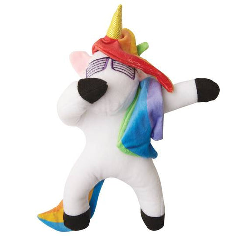 Snugarooz Dab the Unicorn Plush Dog Toy