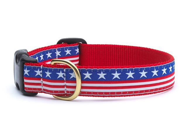 Up Country Stars & Stripes Collars & Leads