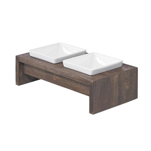 Artisian Double Wood Diner - Walnut