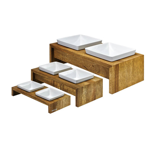 Artisian Double Wood Diner - Bamboo