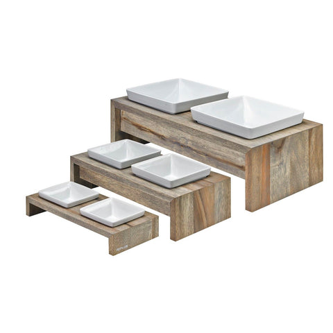Artisian Double Wood Diner - Fossil