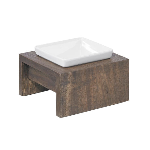 Artisian Single Wood Diner - Walnut