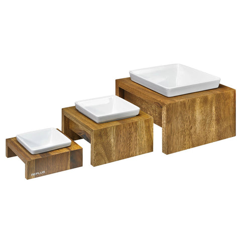 Artisian Single Wood Diner - Bamboo