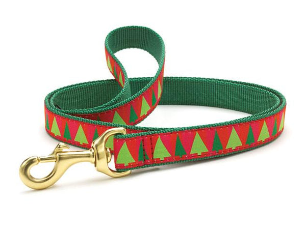 Up Country Festive Trees Collars & Leads