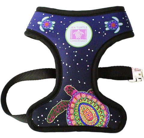 Pawsitivity's Sea Turtle Conservancy Turtle Spirit Reversible Harness
