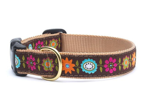 Up Country Bella Floral Collars & Leads