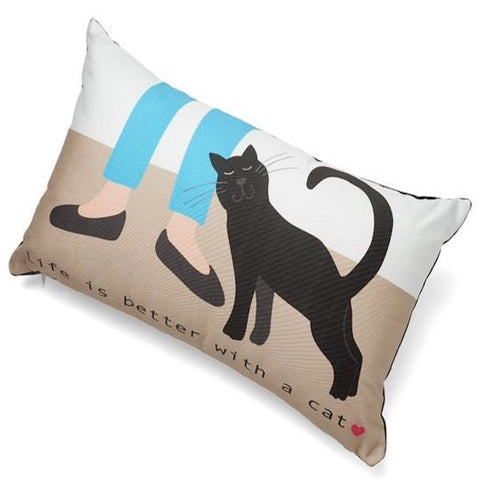 Up Country Pillow Life Is Better With A Cat