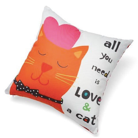 Up Country Pillow All You Need Is Love And A Cat