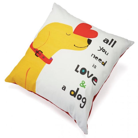 Up Country Pillow All You Need Is Love And A Dog