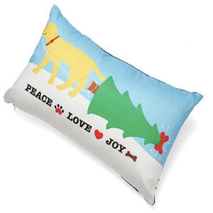 Up Country Pillow Peace, Love & Joy