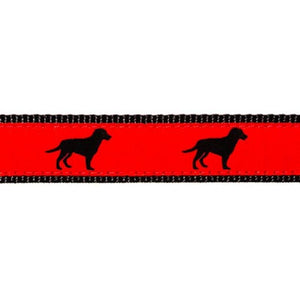 Preston Black Dog Collars & Leads