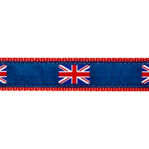 Preston British Flag Collars & Leads