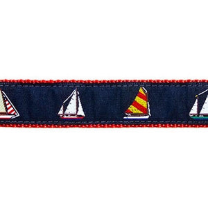 Preston Four Sailboats Collars & Leads