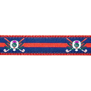 Preston Golf Thistle Collars & Leads