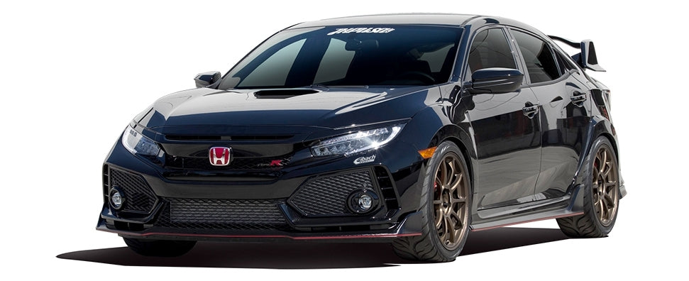 VTEC Kicks In! The All-New Type R Gets the Eibach Treatment