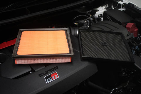 Air Filter Before and After