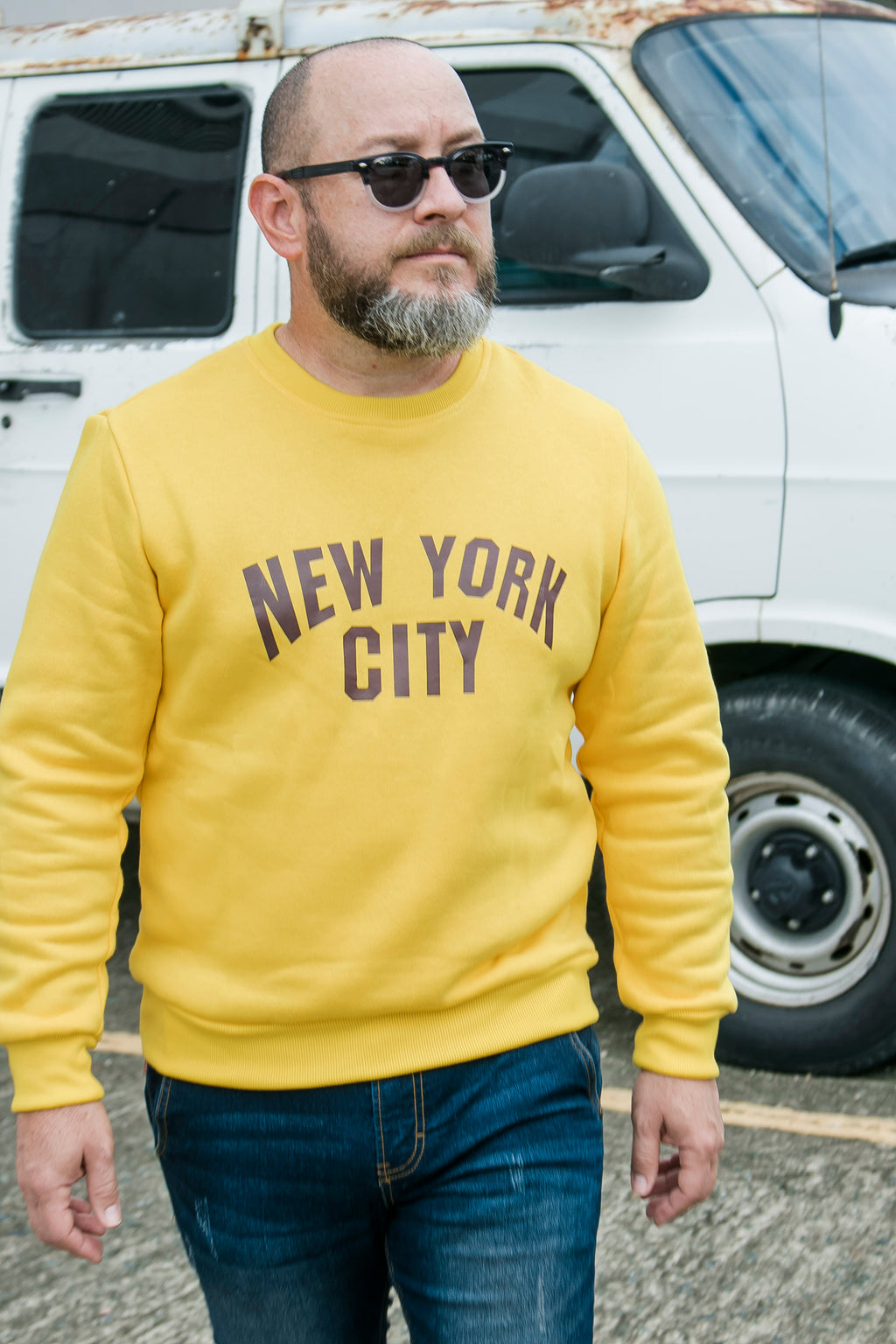 NYC Yellow Sweater