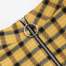 Cher Plaid Mini Skirt