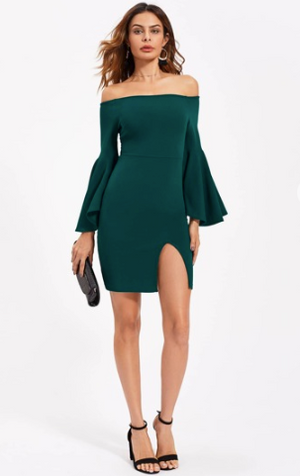 Juliet Emerald Dress