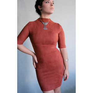 Traje Body Faux Suede