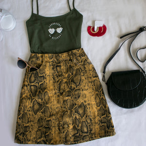 Minifalda Savage Snakeprint