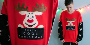 Ugly Christmas Sweater - Venado Fichao