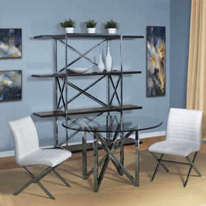 Calista Glass Top Dining Table