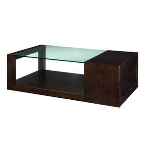 Dado Rectangular Glass Top Cocktail Table