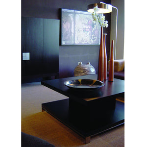 Force Square Cocktail Table in Black